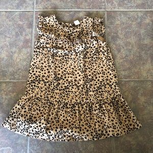 🔵 4/$20 Baby Gap Animal Print Dress Size 4 or 4T